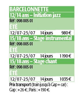 Vacances musicales barcelonnette barcelonnette france - Barcelonnette office tourisme ...